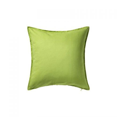 کاور کوسن ساده ایکیا 50*50 سبز مدل GURLI