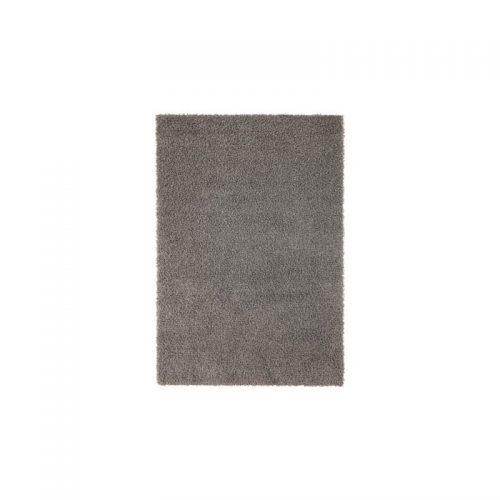 قالیچه خاکستری پرزبلند ایکیا مدل HAPMEN