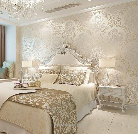 کاغذ دیواری اتاق خواب مستر را برای کدام دیوارها نصب کنیم