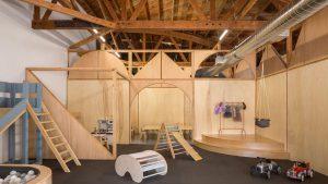 طراحی فضای کار مجهز به مهدکودک در کالیفرنیا/ گروه معماری Zooco Estudio