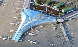 طراحی ترمینال فرودگاه O'Hare در شیکاگو