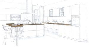 طراحی آشپزخانه برای چیزی بیش از پخت و پز