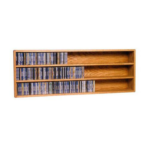 طبقه دیواری نگهدارنده CD و DVD مدل DARK