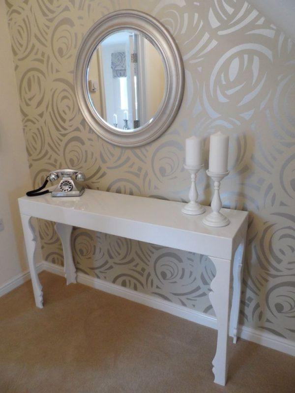 کاغذ دیواری آینه ای
