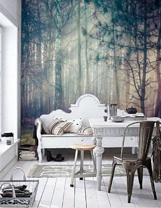 انواع پوستر منظره در طراحی دکوراسیون خانه
