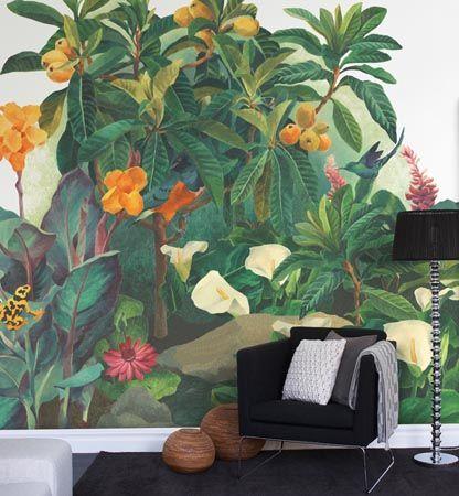 چه منظره ای زیباتر از یک پوستر دیواری سه بعدی گل بر دیوار