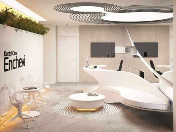می توان فضای نشیمن اتاق انتظار را کمی خلاقانه تر طراحی کرد