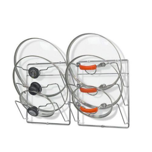 شلف ارگانایزر داخل کابینتی درب قابلمه فلزی مدل MOUNT POT