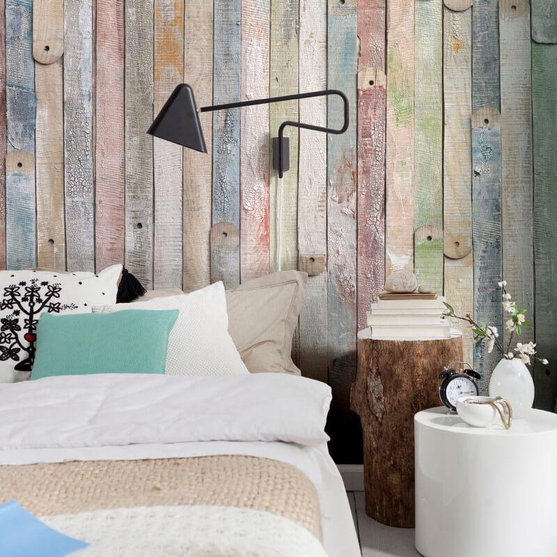 استفاده از پانل های دیواری برای ایجاد تغییرات در اتاق خواب