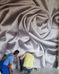 نقاشی دیواری و پتینه کاری؛ جلوه هنر در دکوراسیون داخلی