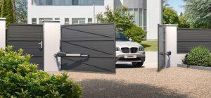 44 مدل درب حیاط لوکس و مدرن؛ یک ورودی متمایز طراحی کنید!
