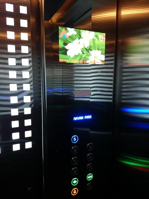جزئیات اجرایی در آسانسور