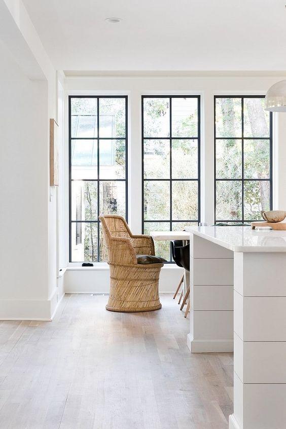 پنجره های کشیده و تمام قد در هر فضایی