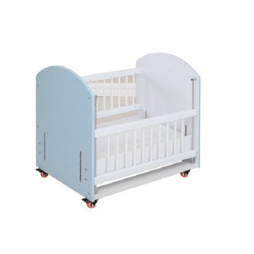 تخت خواب کنار مادر سیسمونی اتاق نوزاد آپادانا آبی