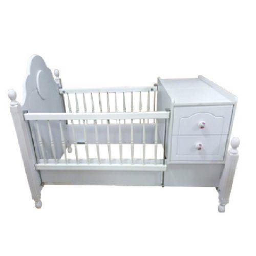 تخت و میز تعویض پوشک دومنظوره نوزاد آپادانا مدل PALI