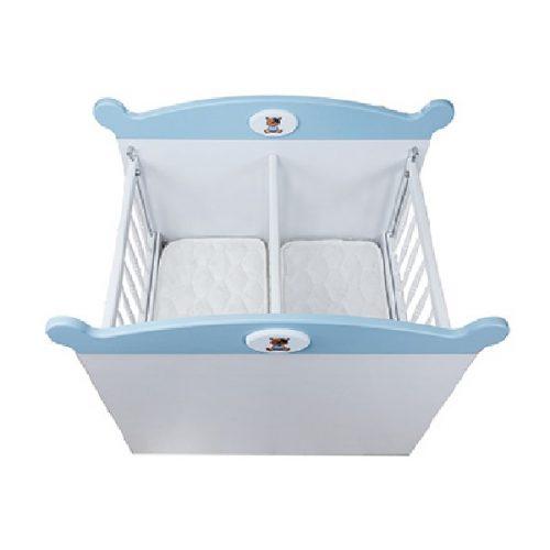تخت خواب نوزادی دوقلو سیسمونی آپادانا مدل TEDI