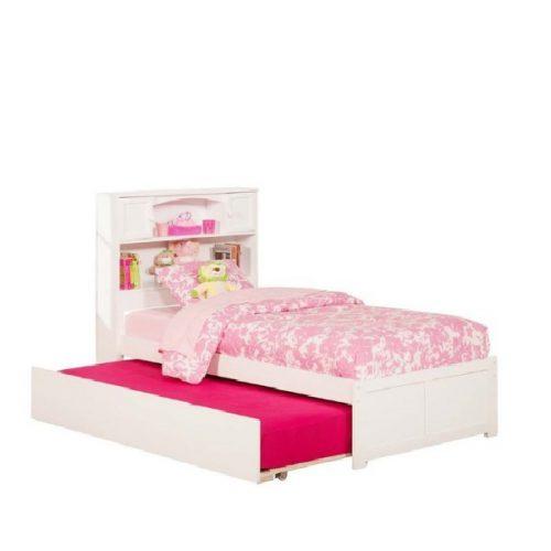 تخت کودک دو طبقه دخترانه مدل URBAN