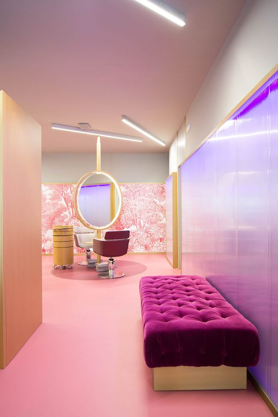 50 نمونه دکوراسیون آرایشگاه + نکات کاربردی طراحی این فضا