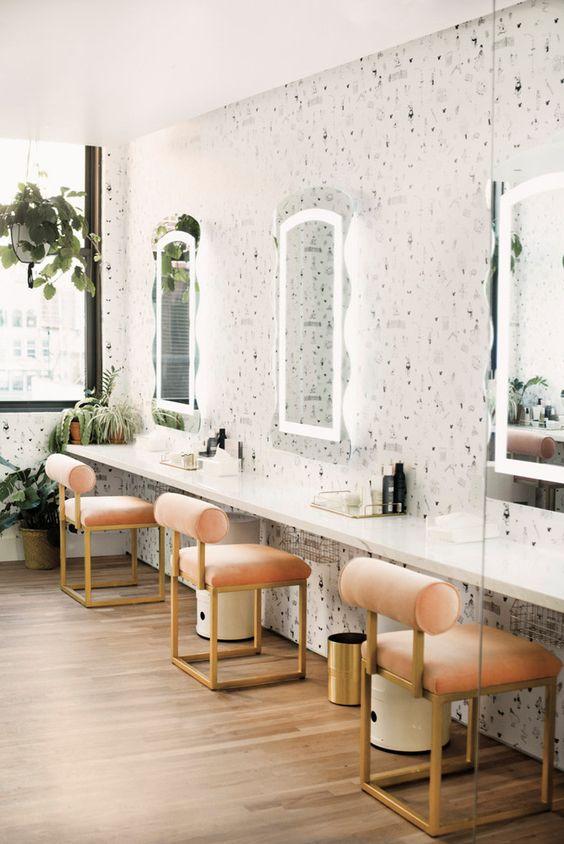 طراحی داخلی آرایشگاه