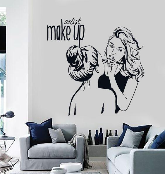 دیزاین دیواری آرایشگاه