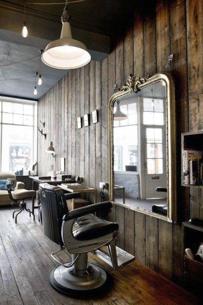 طراحی داخلی آرایشگاه مردانه ، امری است که روی جذب مشتری تاثیر زیادی می گذارد.