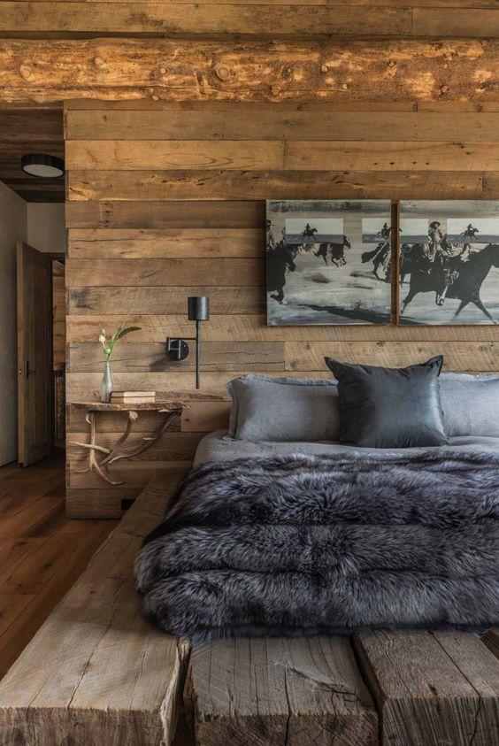 در فضای داخلی که مبتنی بر زندگی کوهستانی طراحی می شو