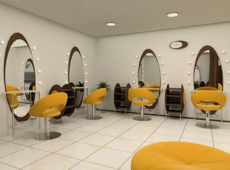 نقش مبلمان در طراحی داخلی آرایشگاه زنانه