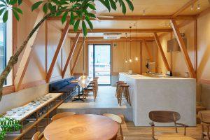 طراحی کافی شاپ و اقامتگاه IDUMI