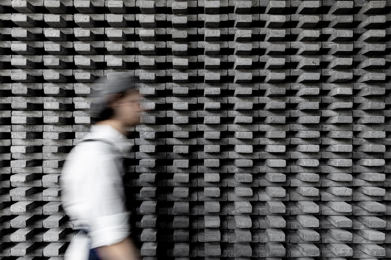 دیوار آجر چینی شده مدرن