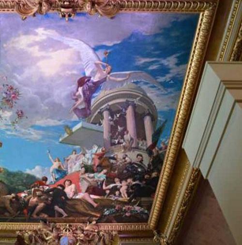 نقاشی مینیاتوری در سقف