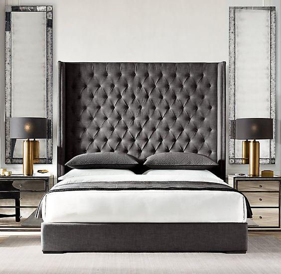 استفاده از رنگ سیاه در اتاق خواب
