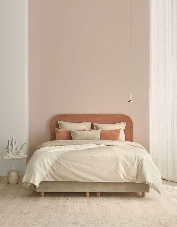 رنگ بژ در طراحی داخلی اتاق خواب