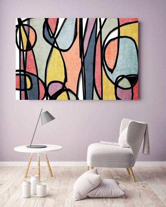 تاثیری که اثر هنری در خانه شما ایجاد خواهد کرد