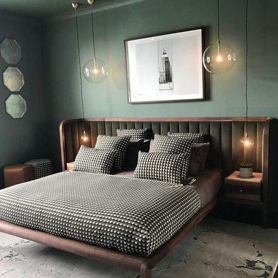 سیستم روشنایی خلاقانه در اطراف تخت خواب
