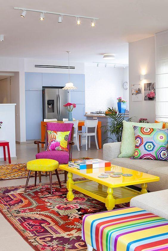 طراحی ای رنگارنگ برای محیط زندگی خود