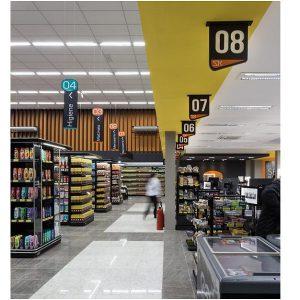 قفسه بندی و طراحی سوپر مارکت