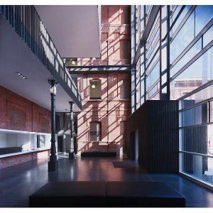 طراحی داخلی آموزشگاه موسیقی Roubaix / معماری zigzag architecture