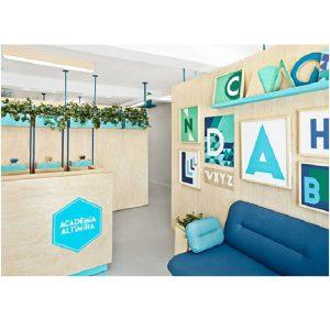 طراحی داخلی آموزشگاه زبان Acadèmia Altimira / معماری Masquespacio