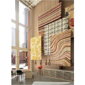 قفسه بندی و طراحی داخلی فرش فروشی