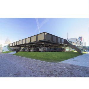 طراحی کافی شاپ Coffee and Bikes / معماری BureauVanEig + Biq architecten