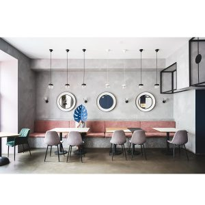 طراحی کافی شاپ Cake and Breakfast / معماری Hotels Only