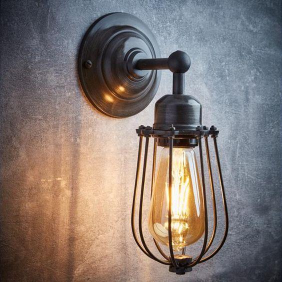چراغ های دیواری سبک وینتیج