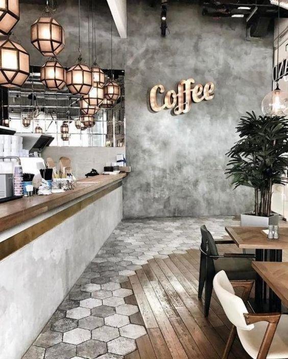 کافه ها باید به گونه ای دکوراسیون شوند که از نظر دید بصری برای مشتری ها خوش آیند بوده