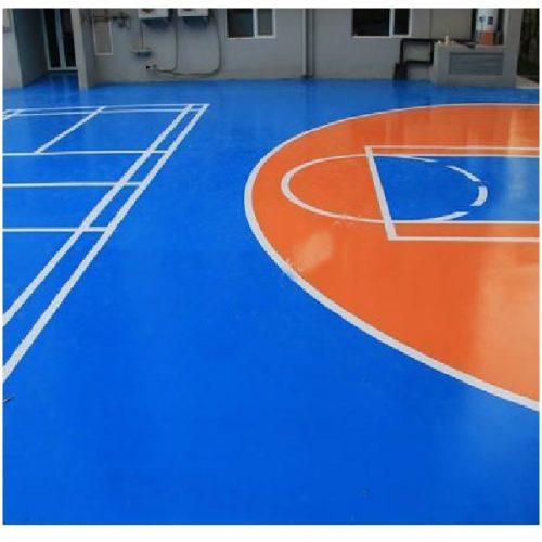 کفپوش سالن ورزشی زرین فام پی وی سی پودری