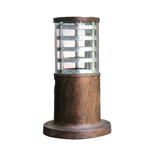 چراغ سردر باغی کیان لایت مدل اسمارت مسی