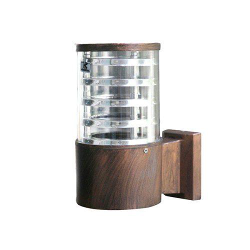 چراغ دیواری حیاطی کیان لایت مدل اسمارت مسی