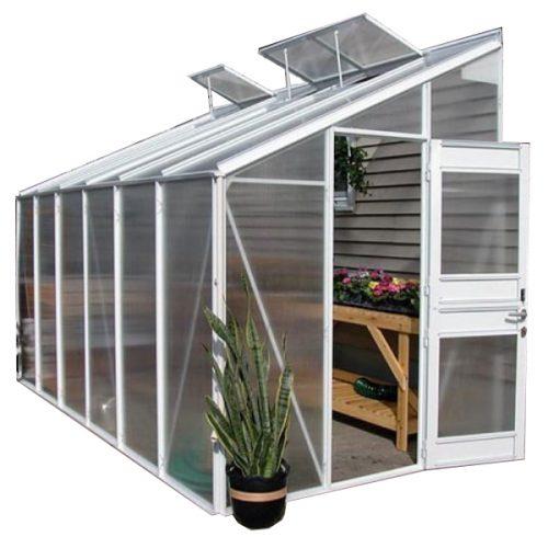 گلخانه خانگی پیش ساخته یک طرفه خانه سبز مدل هرا
