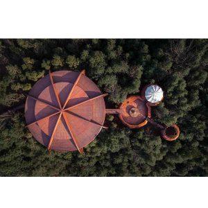 خانه سه تایی در کوه کیان / آتلیه طراحی کانتینیوم
