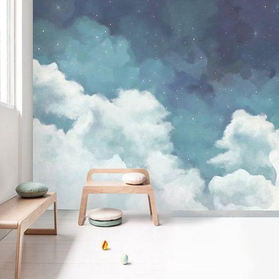 انتخاب کاغذ دیواری اتاق خواب