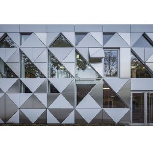 نمای کامپوزیت : آلومینیوم، پوسته ساختمان های بزرگ شهر!